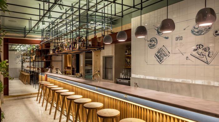 Opso伦敦希腊餐厅