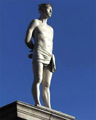伦敦特拉法加广场第四基柱雕像