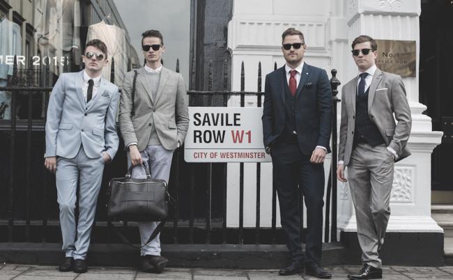 Savile Row伦敦萨维尔街