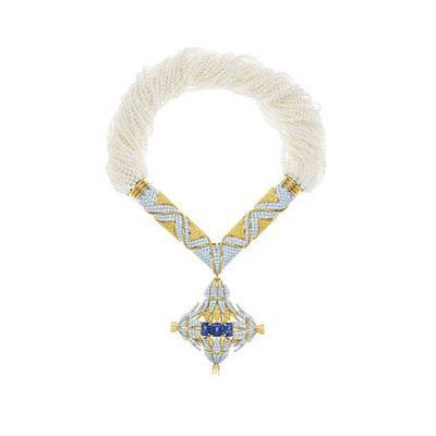 Tiffany & Co. Schlumberger Sheaves项链