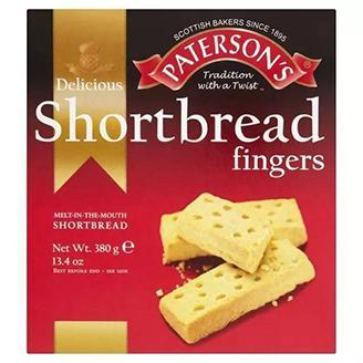 Short Bread Fingers