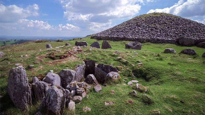 The Loughcrew Cairns