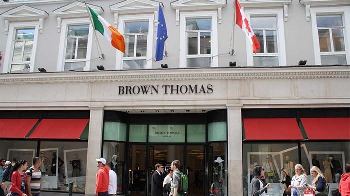 爱尔兰顶级百货Brown Thomas