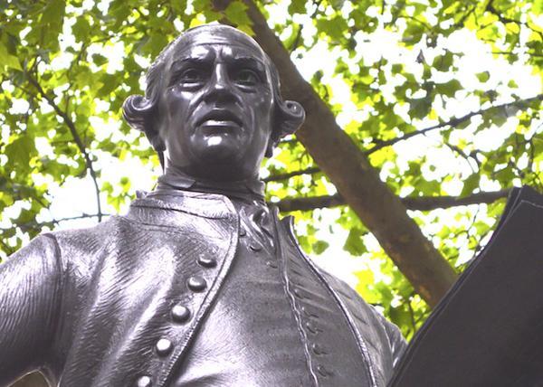 约翰•威尔克斯雕像