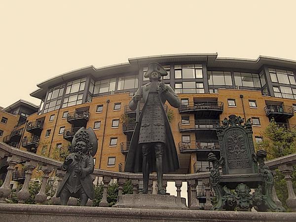 Cavendish Square坎伯兰郡公爵雕像