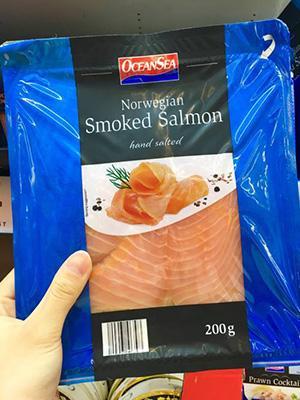 Smoked Salmon 烟熏三文鱼