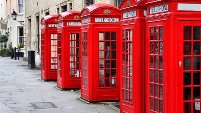英国红色电话亭