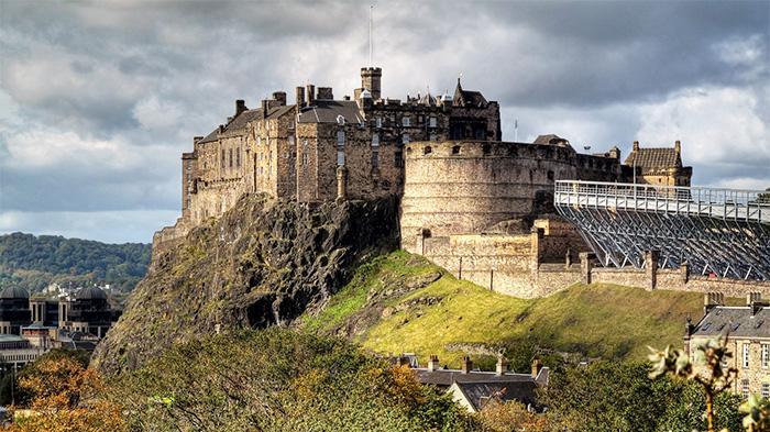 爱丁堡古堡(Edinburgh Castle)