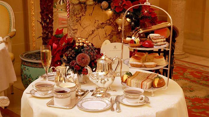 Ritz Hotel的传统下午茶