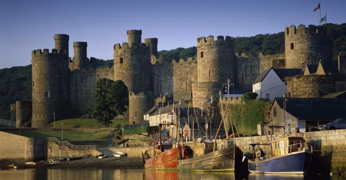 康威城堡(Conwy Castle)