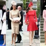 英国凯特王妃穿红的高街服饰品牌盘点