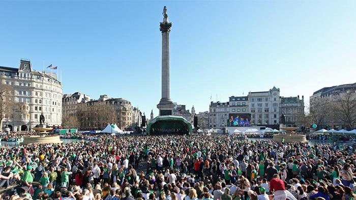 St Andrew's Day in London