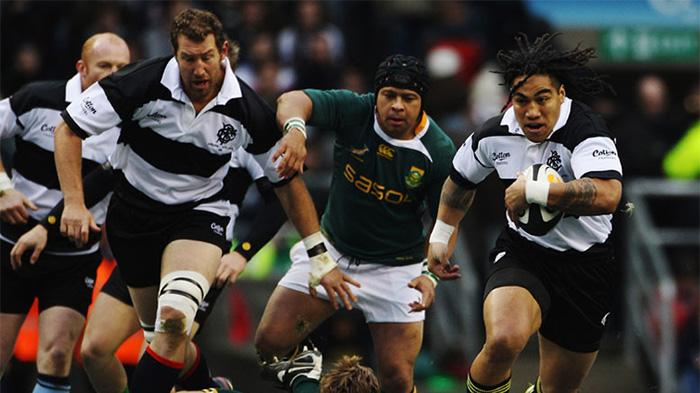 Barbarians v South Africa at Wembley Stadium