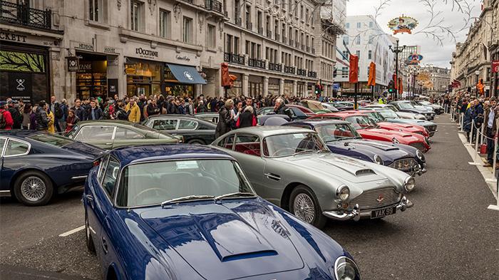 Regent Street Motor Show at Regent Street
