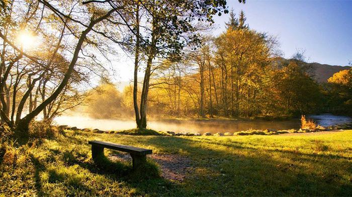 英国湖区秋季