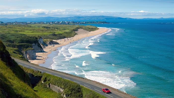 北爱尔兰沿海公路