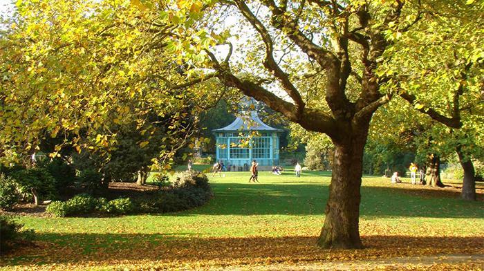 Western Park Sheffield