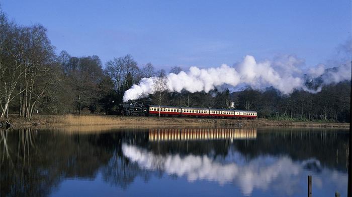 Lakeside & Haverthwaite蒸汽火车