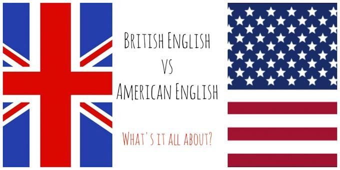 英式英语和美式英语之别