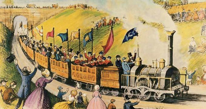 与火车和铁路相关的英文术语与短语