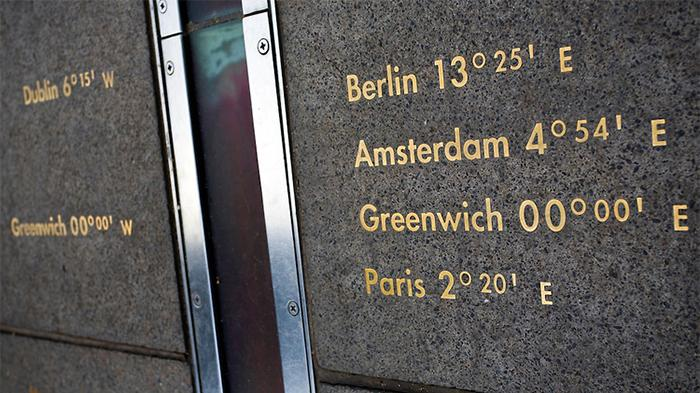 Greenwich Prime Meridian at the Royal Observatory