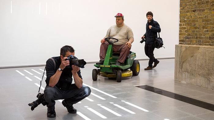 2015年Duane Hanson@ Serpentine Sackler Gallery