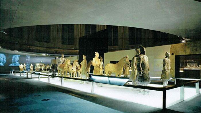 大英博物馆兵马俑展览