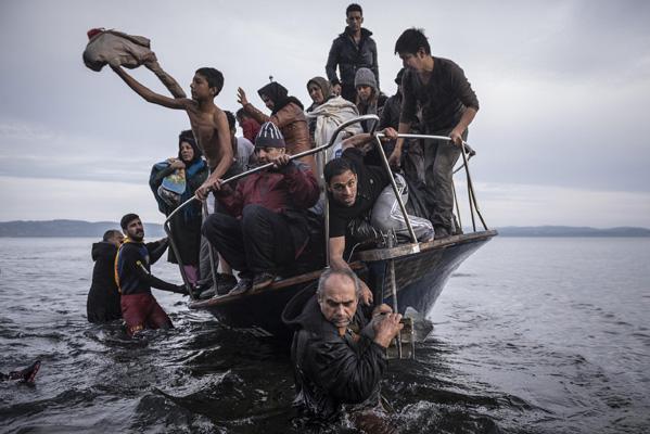 Europe Migration Crisis series, Sergey Ponomarev, 2015, Skala, Greece.