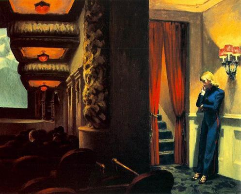 Edward Hopper,New York Movie, 1939.