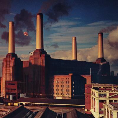 Animals, album cover art, Roger Waters, 1977.