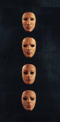 Band face masks from 'The Wall Live', 1979. Photograph: StormStudios.