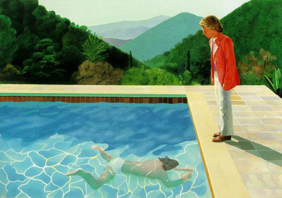 David Hockney Portrait of an Artist(Pool with Two Figures)1972