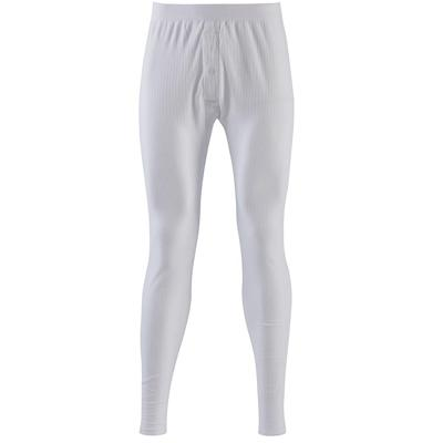 Thermal Jersey Long Johns, White