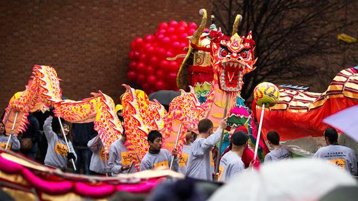 曼彻斯特春节活动