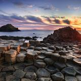 北爱尔兰巨人之路海岸之旅