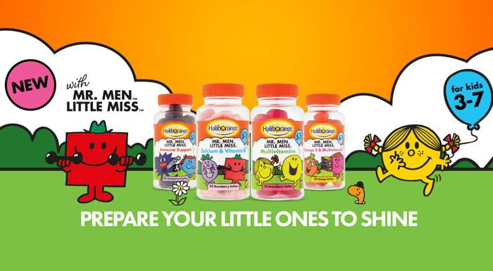 英国的儿童维生素软糖就是Haliborange