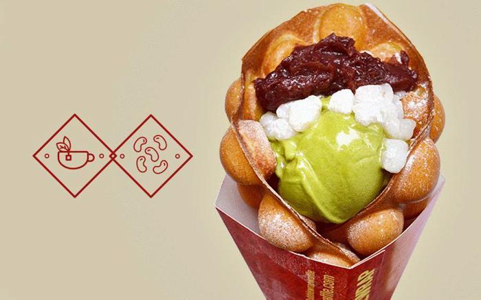 伦敦中国城美食推荐:Bubblewrap 的鸡蛋仔
