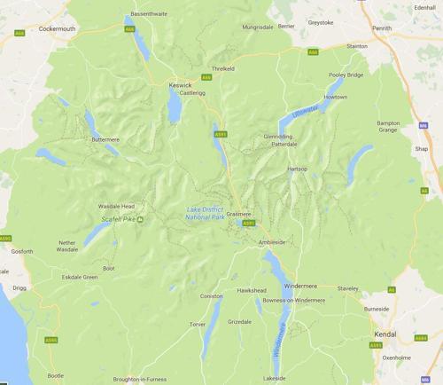 你对英国湖区的湖了解多少?