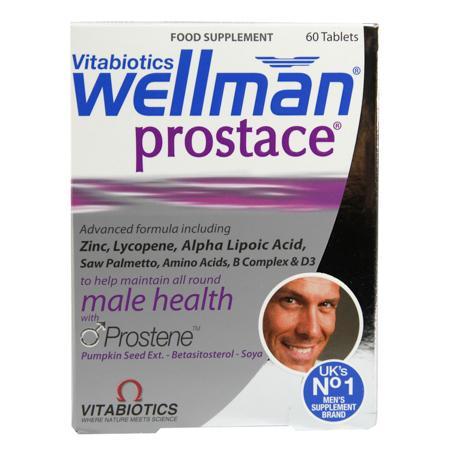Vitabiotics Wellman Prostace Tablets(维百莱前列腺综合营养素)