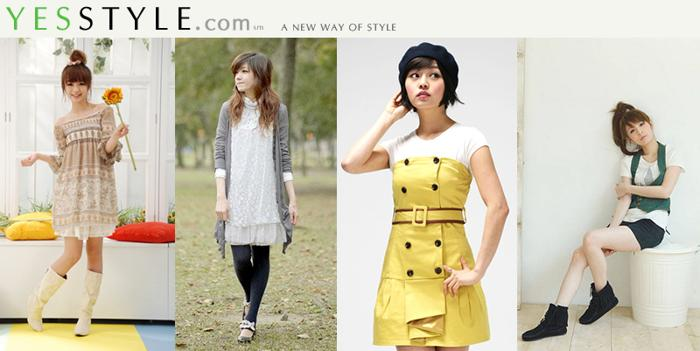 Yesstyle:韩国护肤美妆+时尚网站