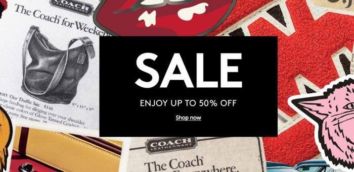 Coach summer sale