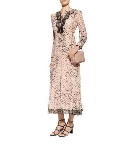 Valentino Star Print Maxi Dress