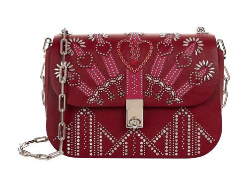 Valentino Garavani Small Embellished Love Blade Shoulder Bag
