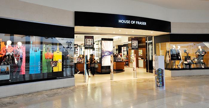 House of Fraser 打折