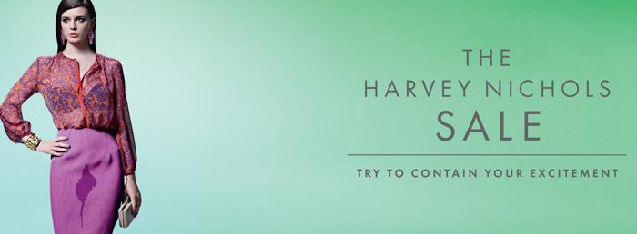Harvey Nichols打折