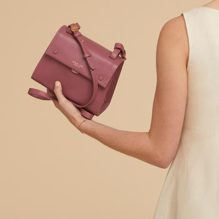 Lavender Gardens Flapover Cross Body(薰衣草花园斜挎包)