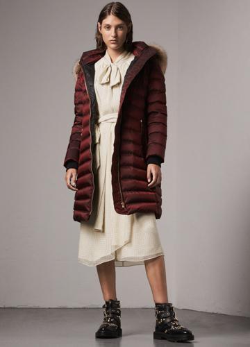 Burberry羽绒服