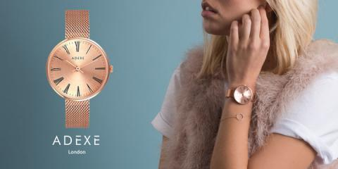 ADEXE Watch|钟表世家,缔造英伦轻奢腕表