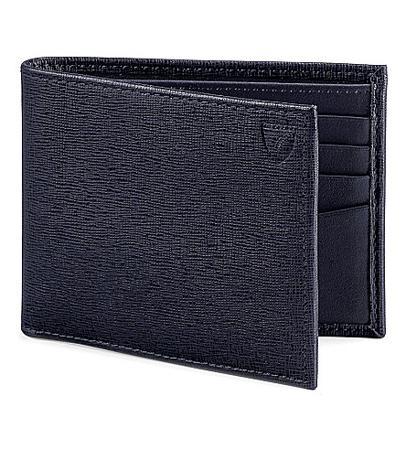 Aspinal of London Billfold Leather Wallet(阿斯皮纳尔皮革钱包)