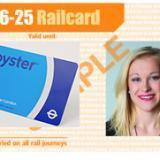 16-25 Railcard(学车火车票打折卡),£30/年,帮你省1/3